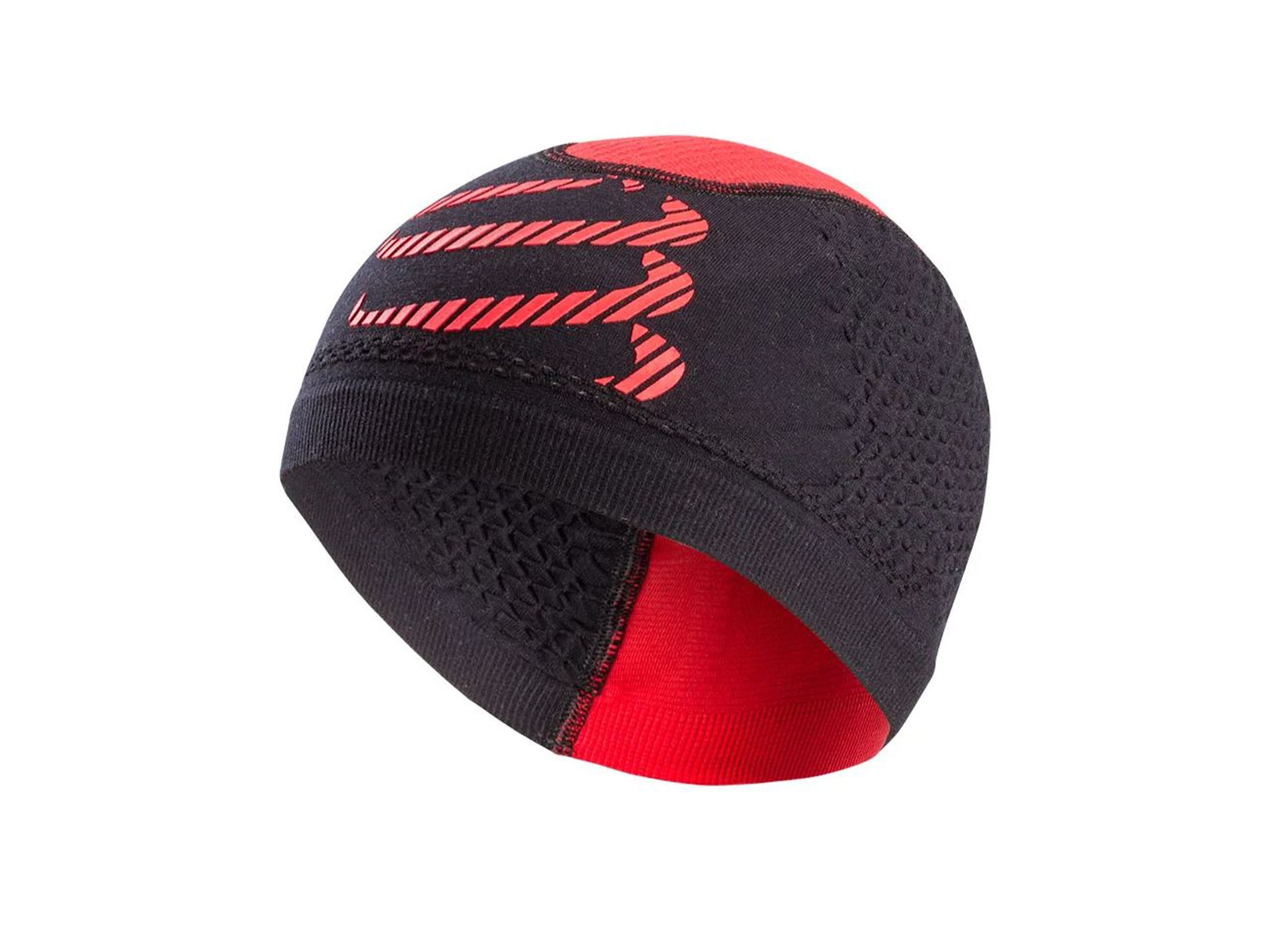 3D Thermo Seamless Beanie BLACK/RED