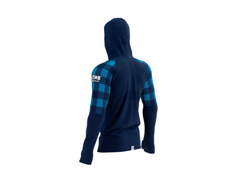Ultra-Trail 180g Racing Hoodie - UTMB 2021 BLUE
