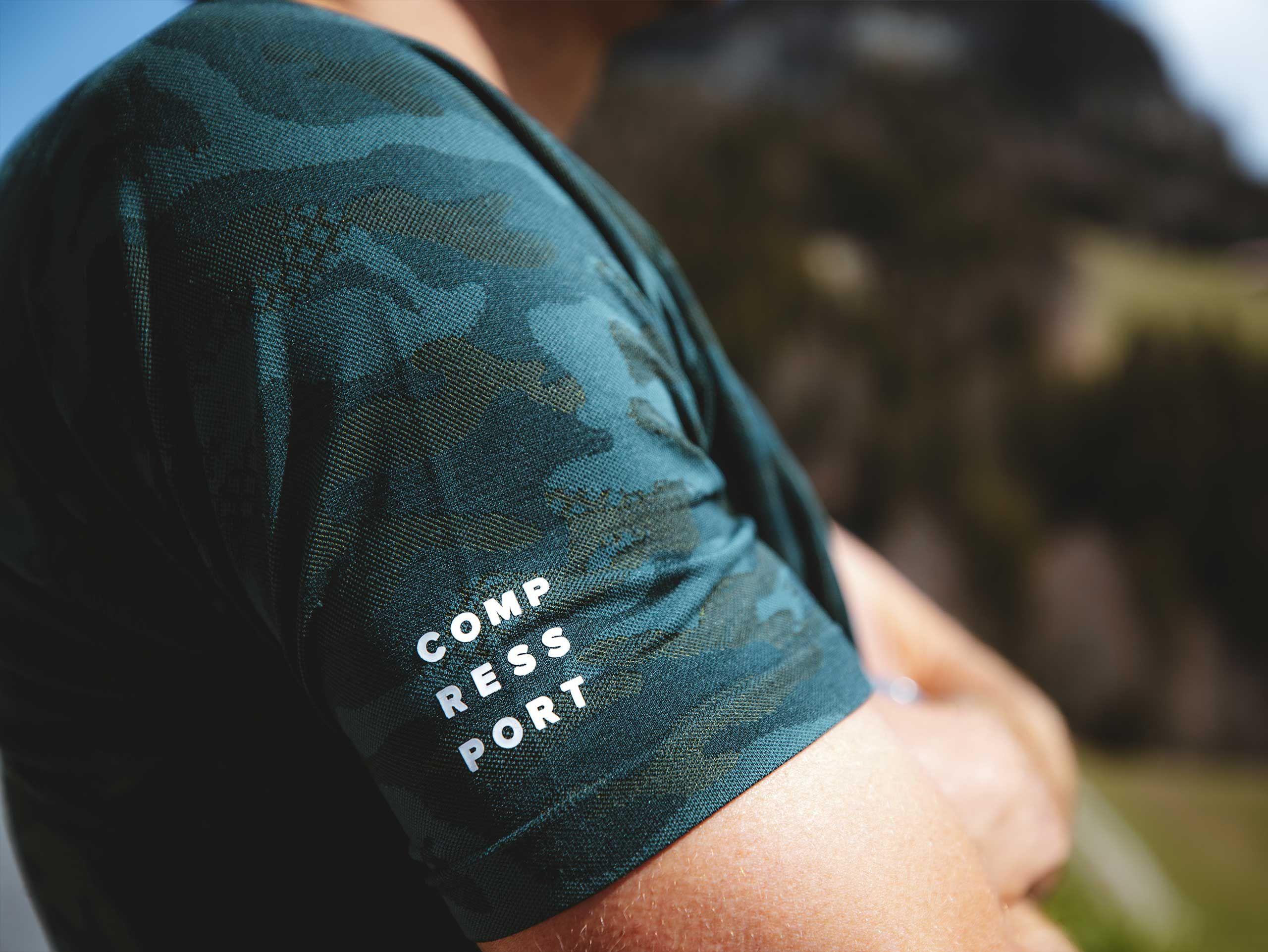Training SS Tshirt M Camo Premium GREEN GABLES
