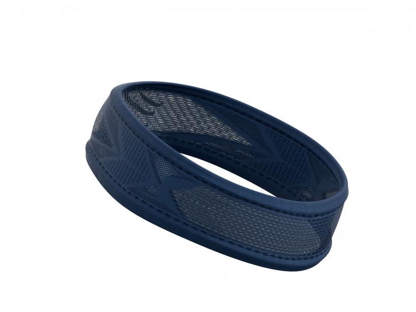 Thin HeadBand On/Off FLUO BLUE