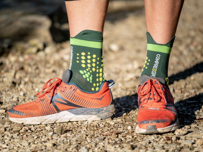 Pro Racing Socks v3.0 Trail GREEN/YELLOW
