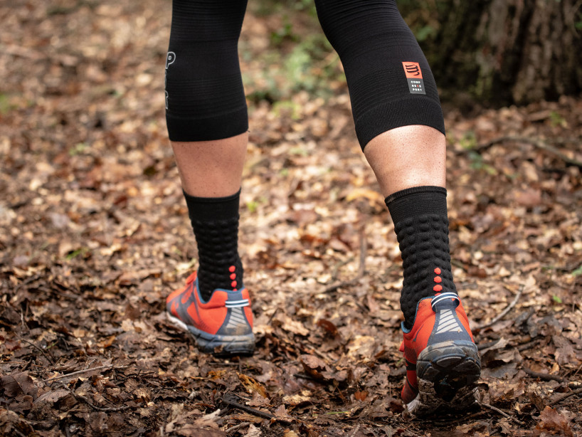 Pro Racing Socks v3.0 - Winter Run BLACK