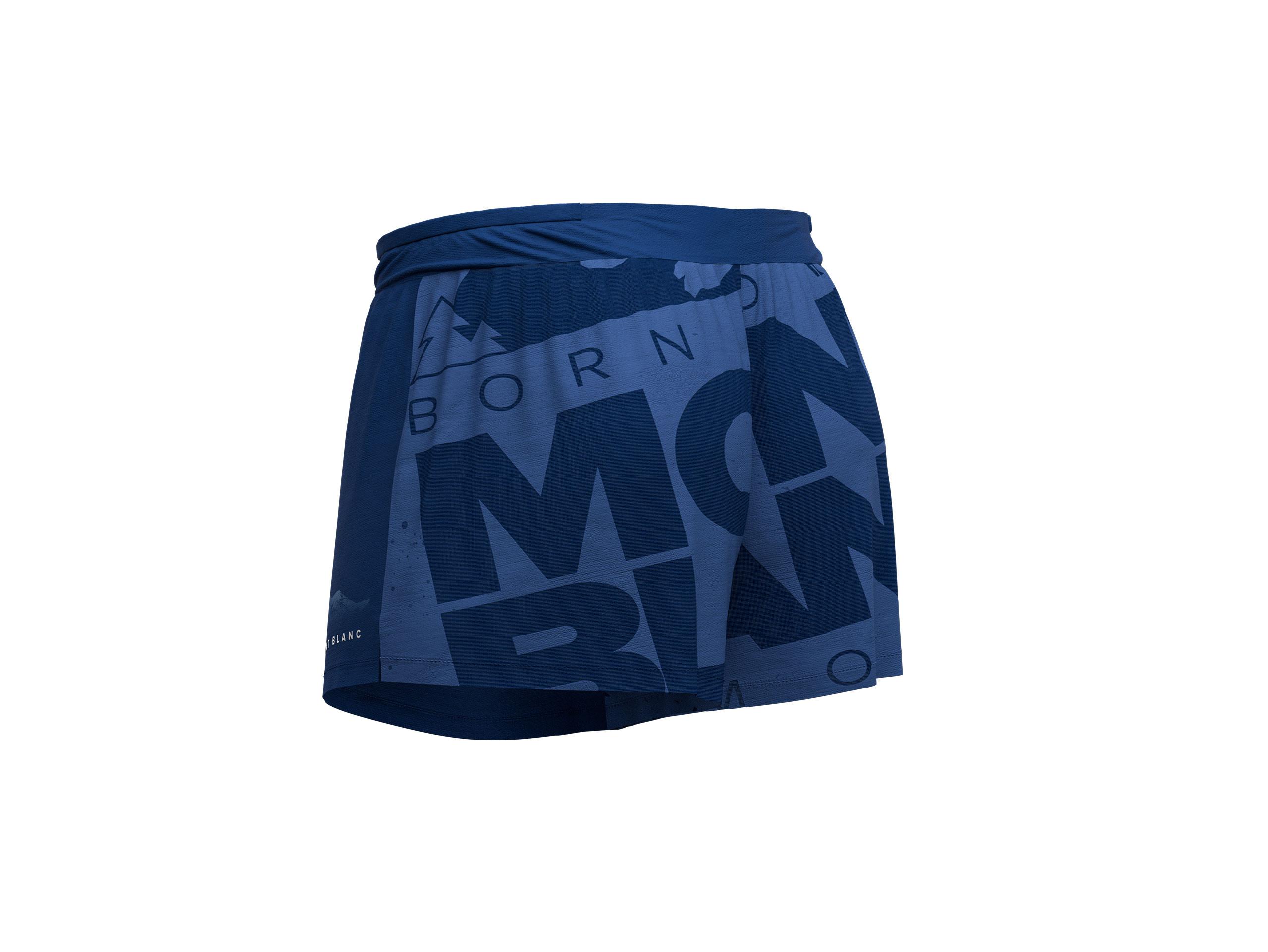 Racing Overshort M - Mont Blanc 2019 BLUE