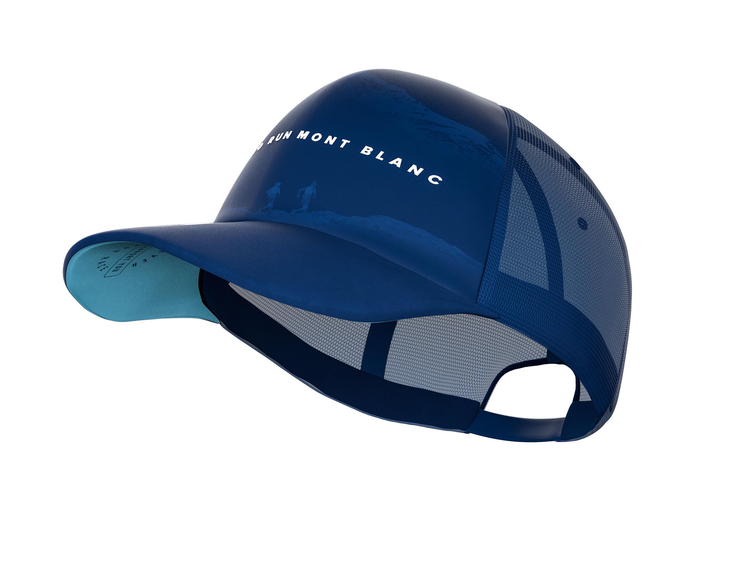 Trucker Cap - Mont Blanc 2019 BLUE