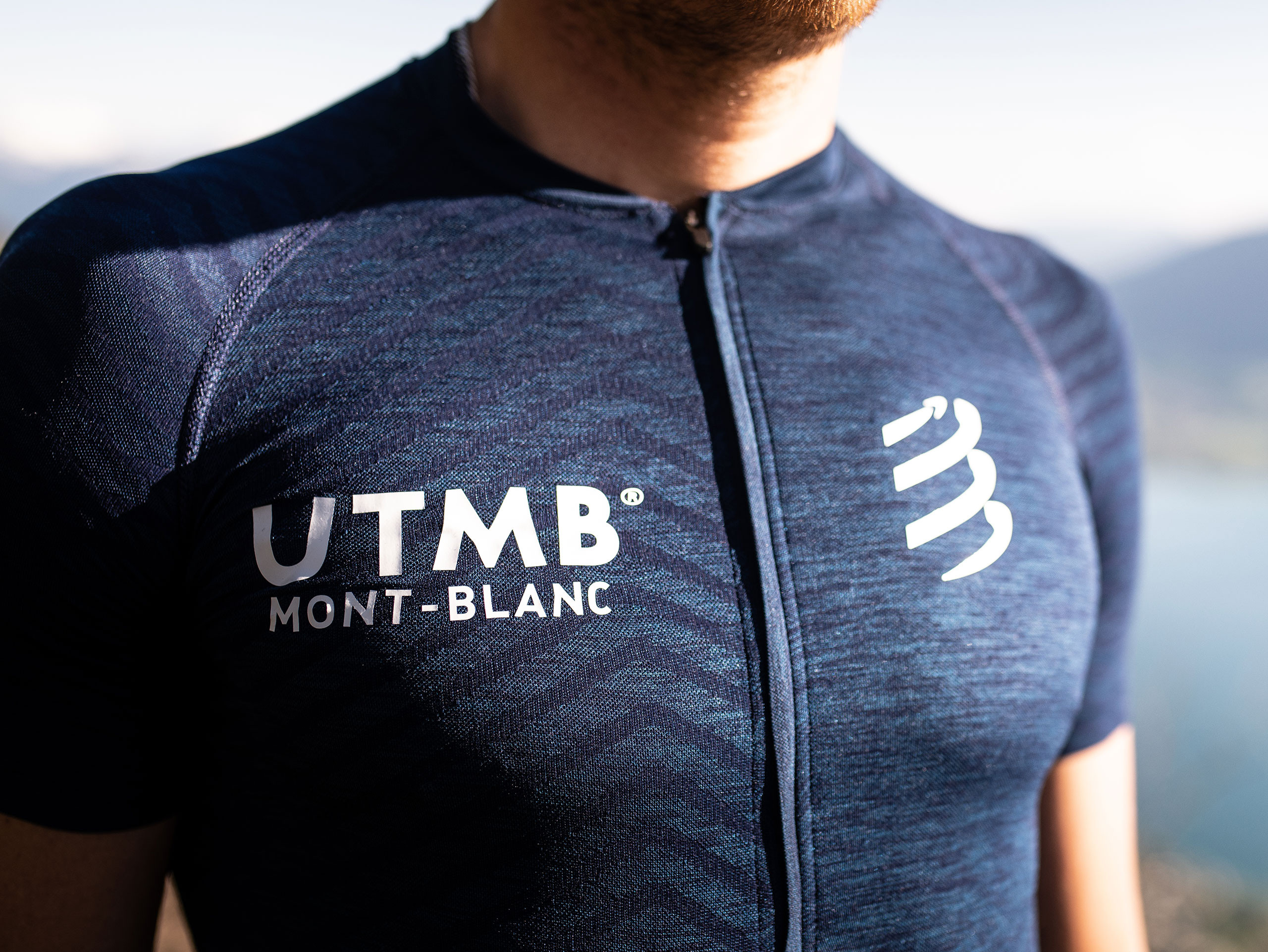 Ultra-Trail Postural SS Top - UTMB 2019 BLUE