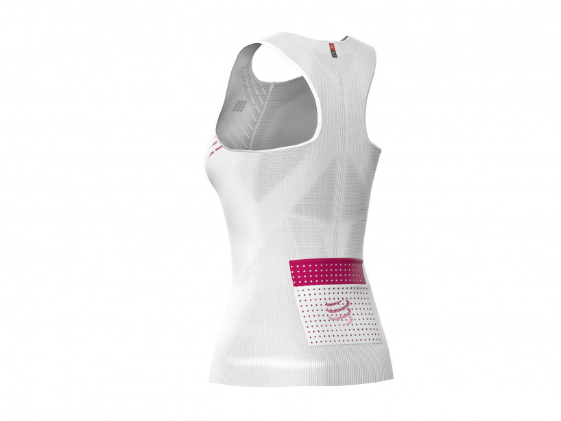 Trail Running Postural Ultra Tank Top W WHITE