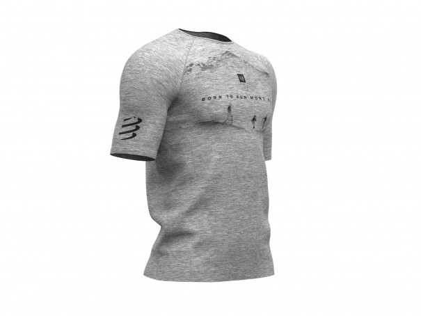 Training Tshirt SS - Mont Blanc 2019 GREY