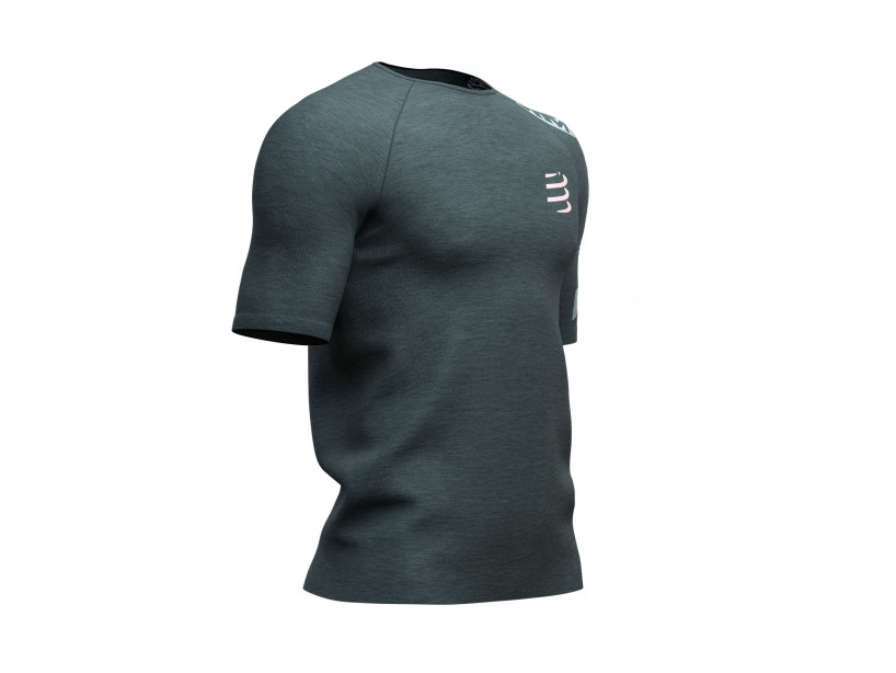 Training Tshirt SS - Born To SwimBikeRun 2019 DARK GREY