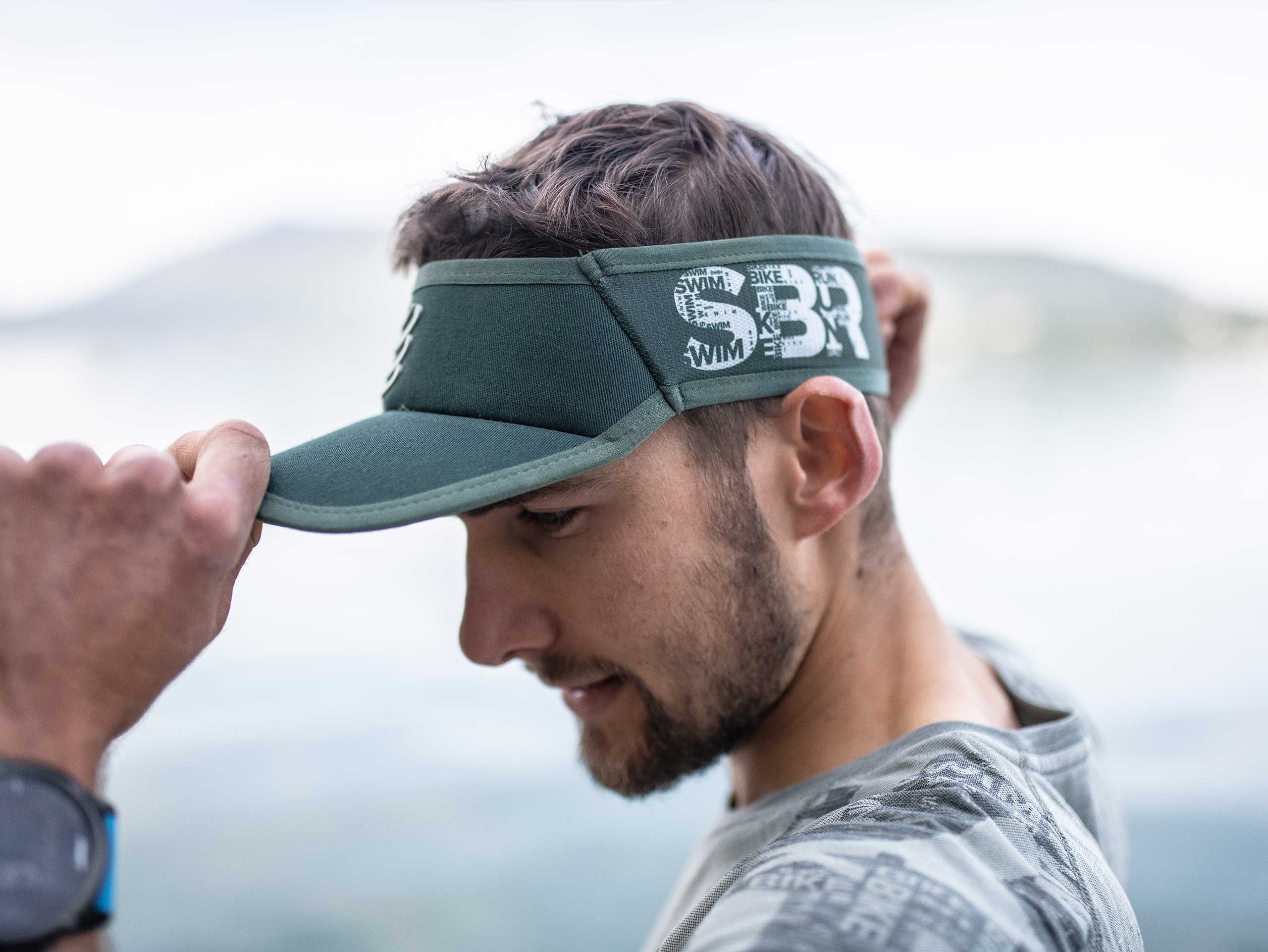 Visor Ultralight - Born To SwimBikeRun 2019 GREY