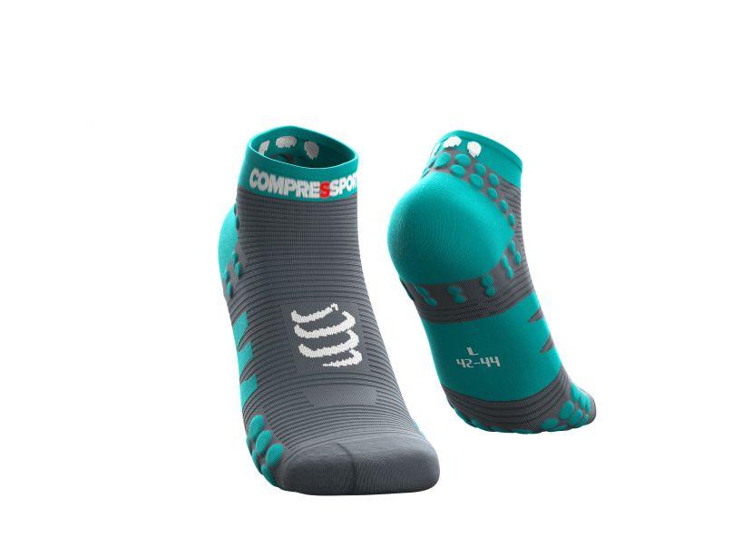 Pro racing socks v3.0 run low bleu du nil