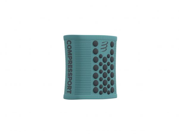 Sweatbands 3d dots bleu du nil