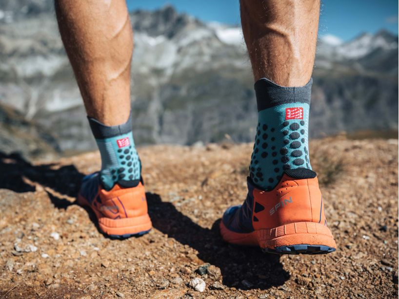 Pro racing socks v3.0 trail bleu du nil