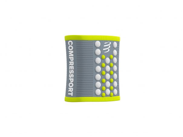 Sweatbands 3D.Dots GREY/LIME