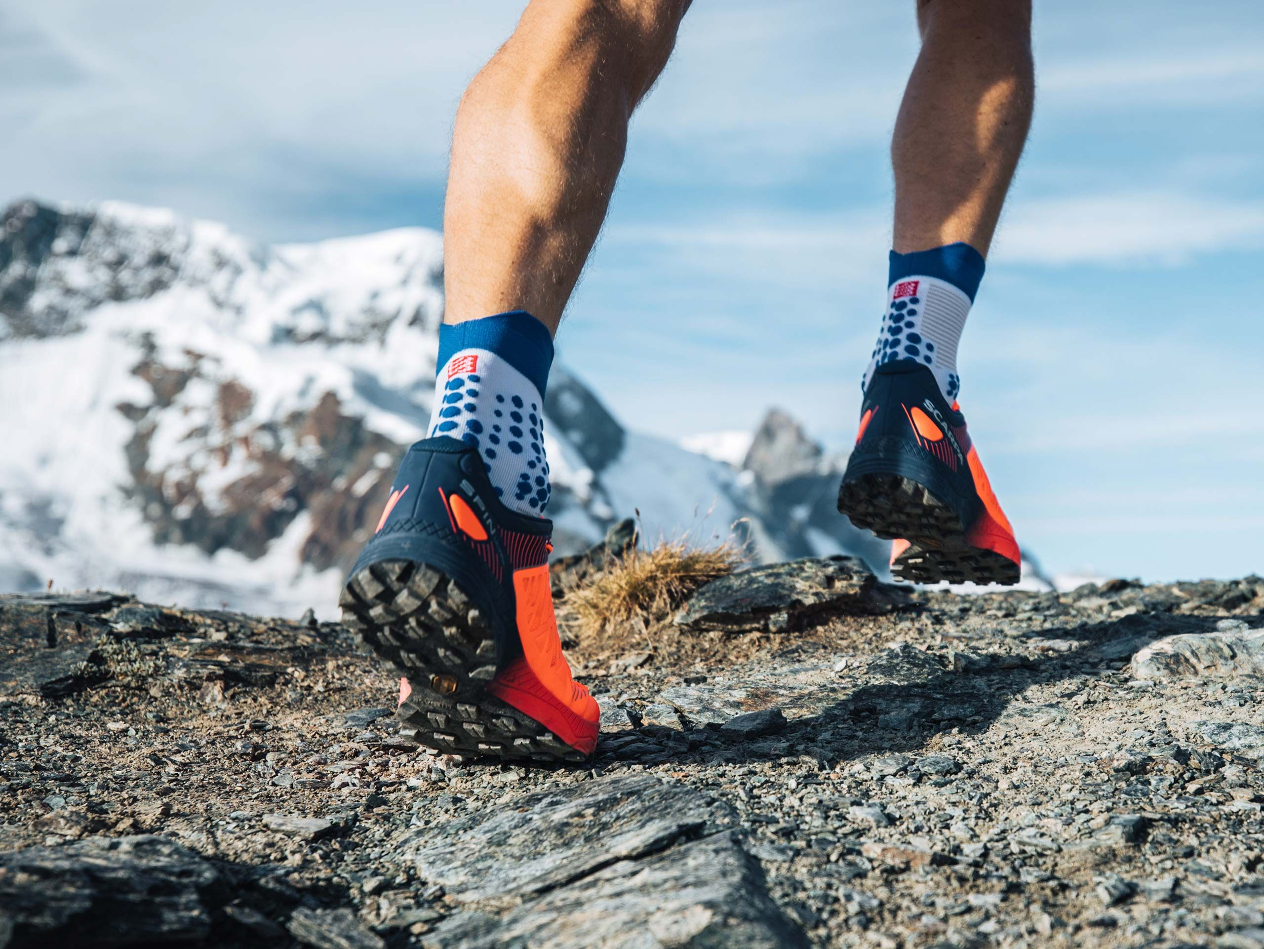 Pro Racing Socks v3.0 Trail - Blanc-Lolite
