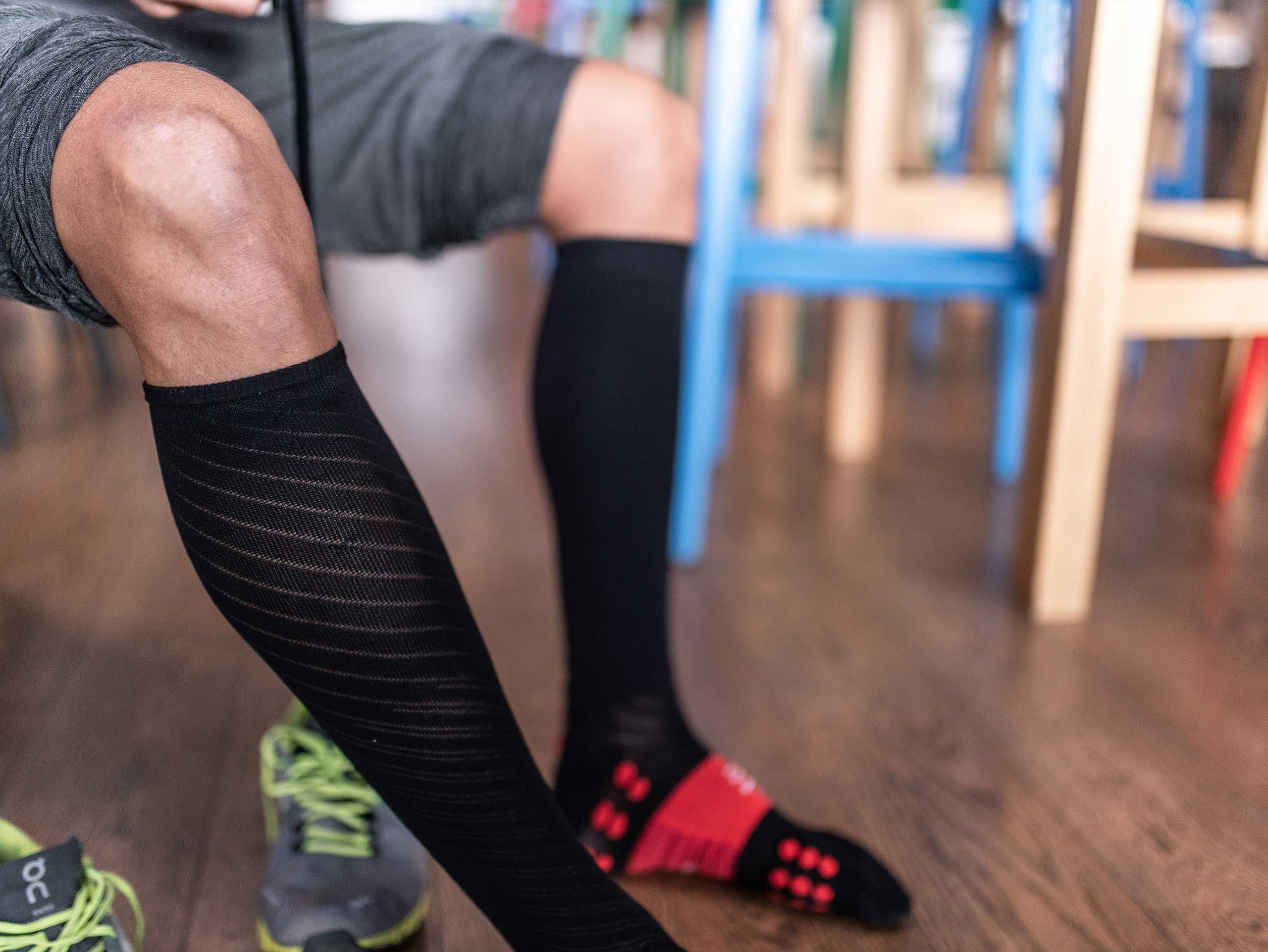 Full Socks Recovery | Chaussettes de compression | Noir