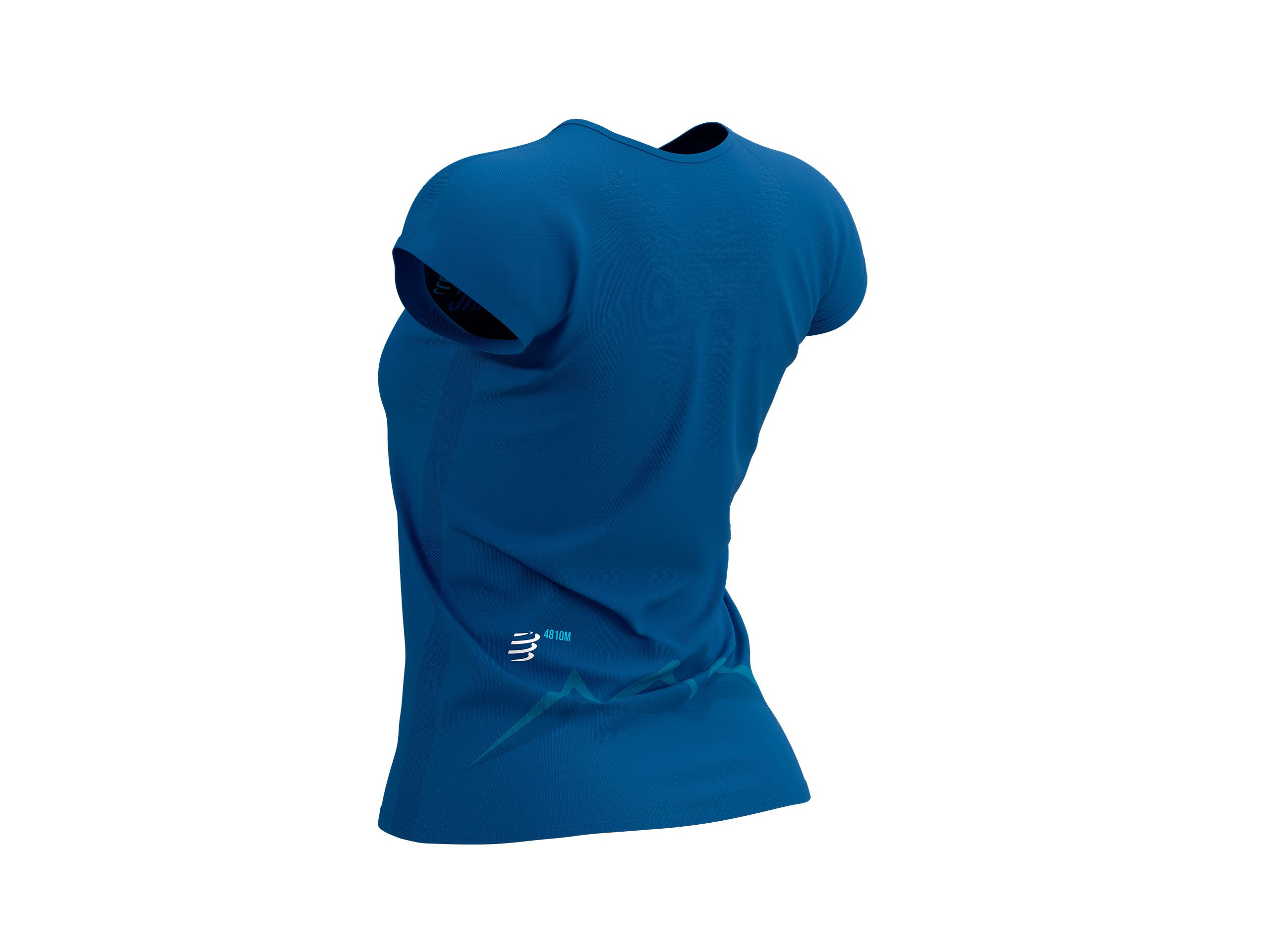 Training Tshirt SS W - Mont Blanc 2021 BLUE