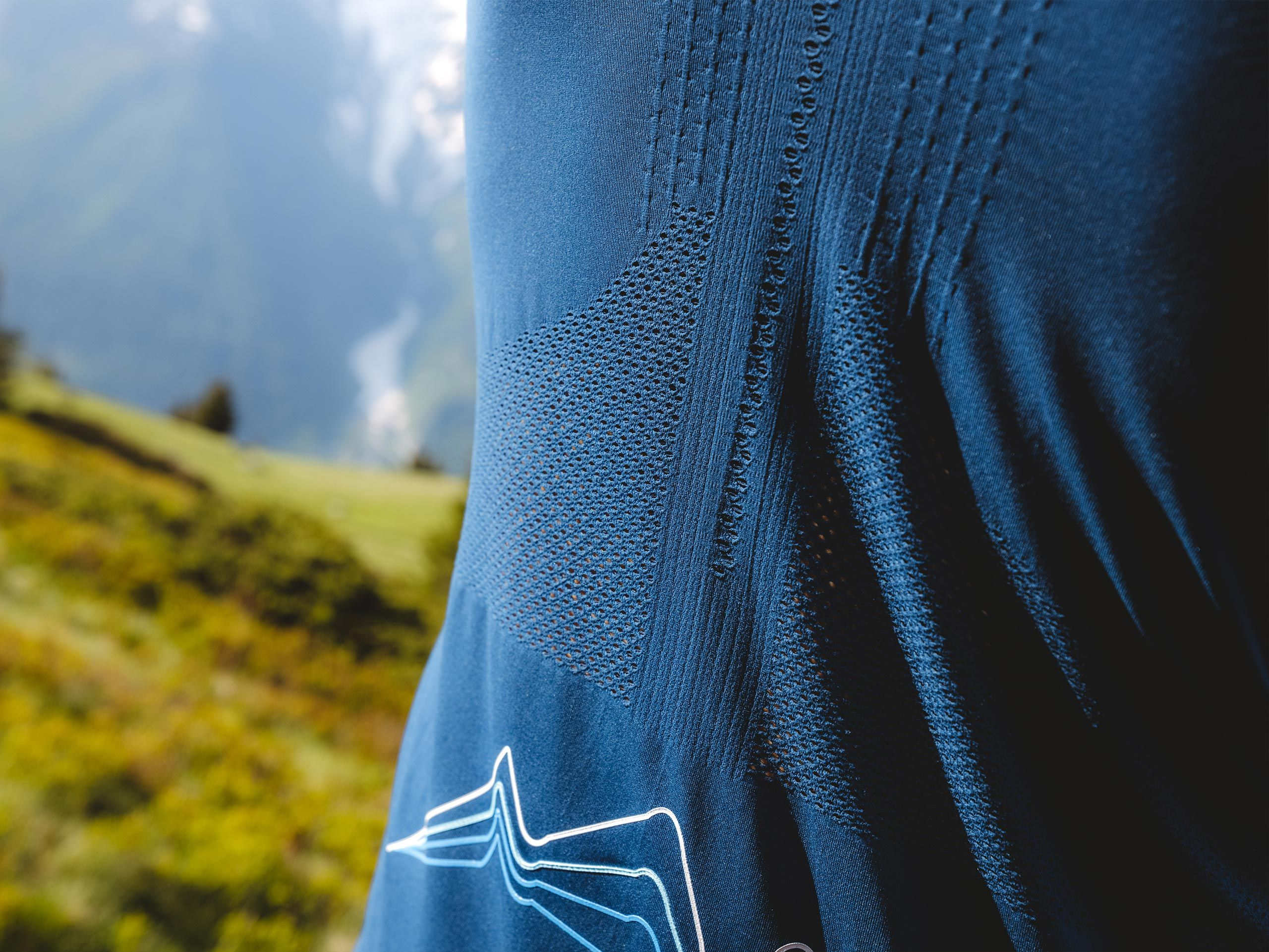 Trail Half-Zip Fitted SS Top - Mont Blanc 2021