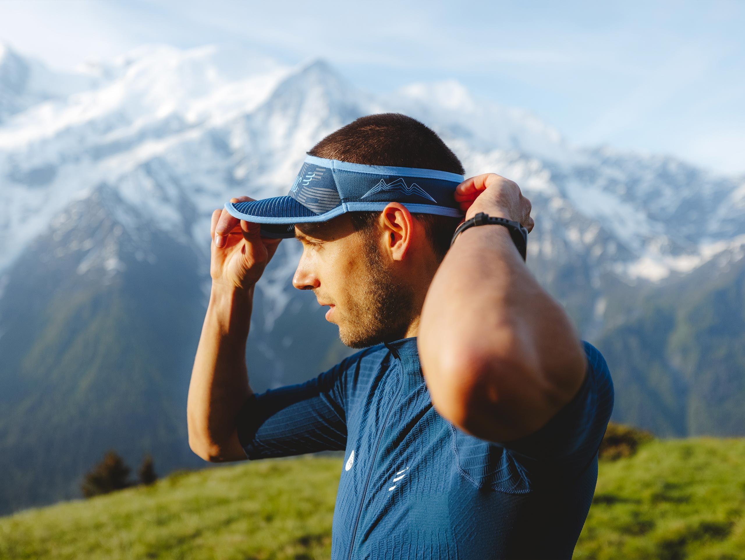 Spiderweb Ultralight Visor - Mont Blanc 2021