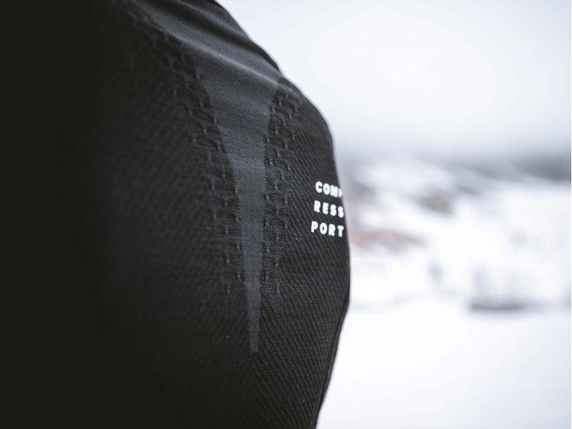 Winter Trail Postural LS Top W BLACK