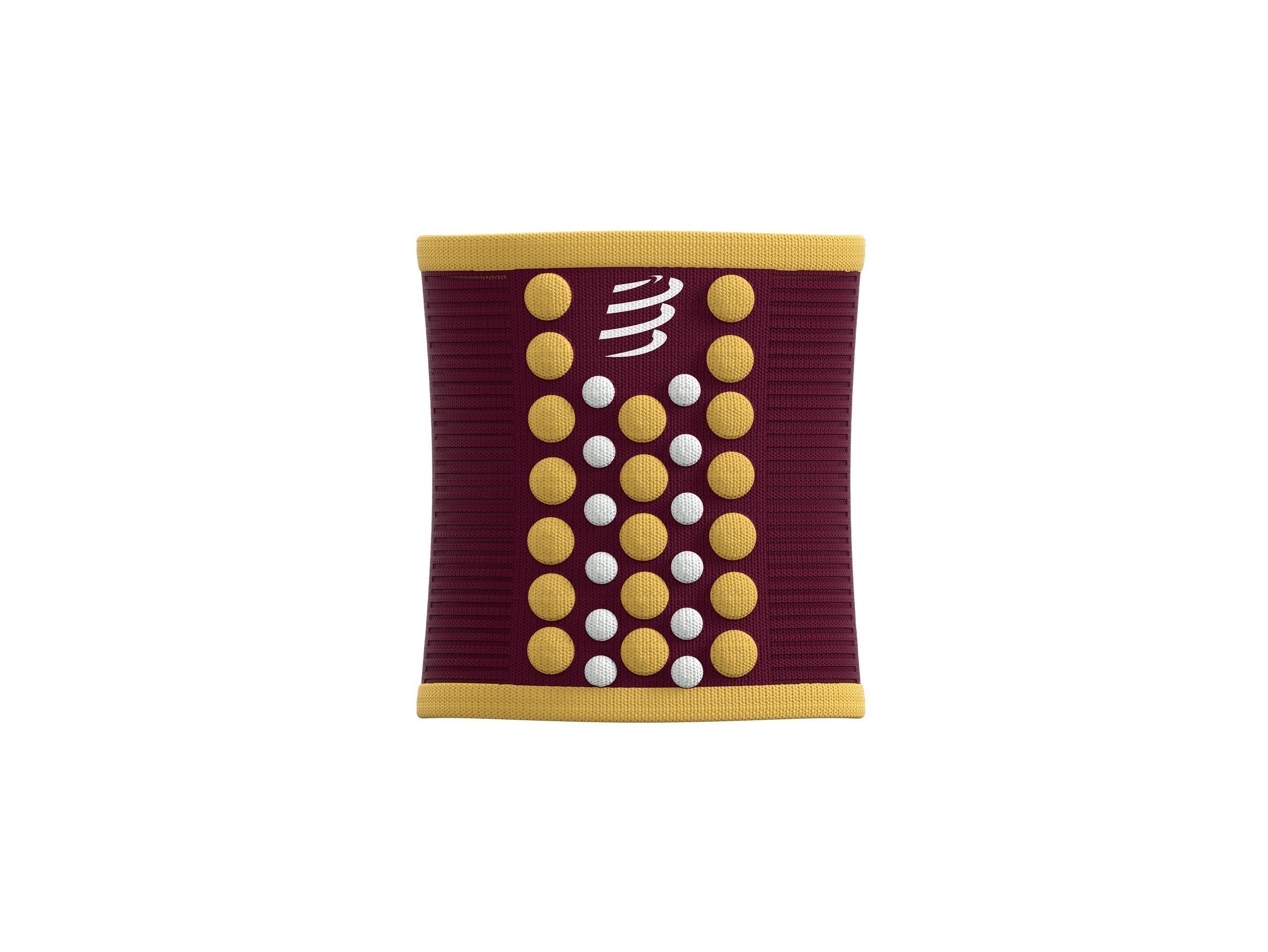 Sweatbands 3D.Dots - Zinfandel / Honey