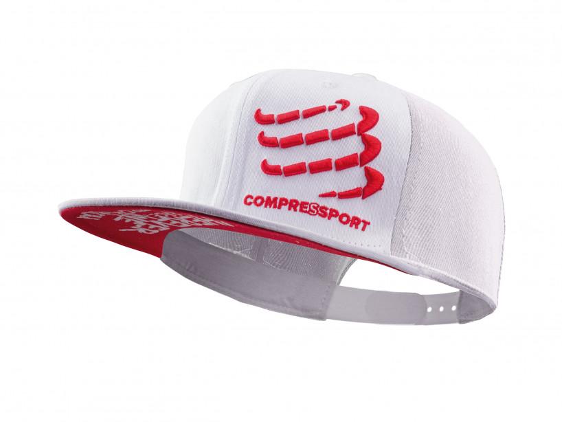 Cappellino flat cap bianco