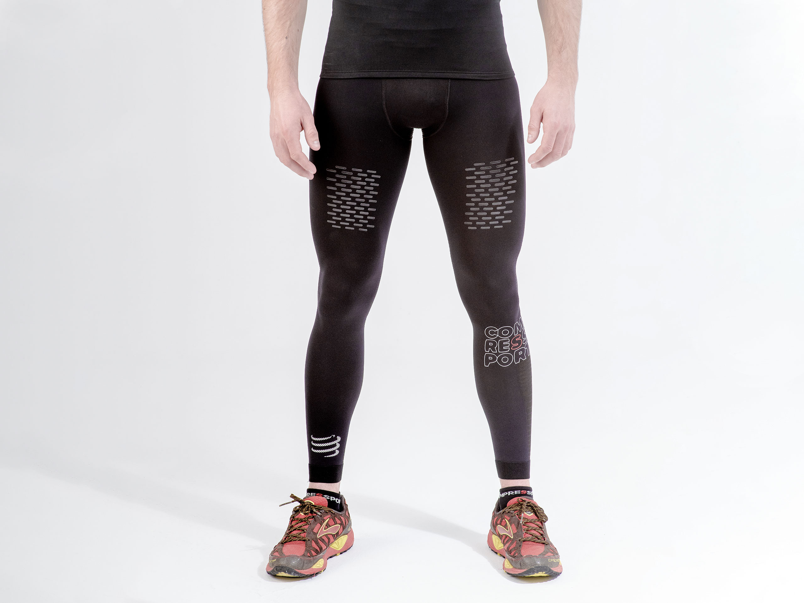 Pantaloni da trail running Under Control neri