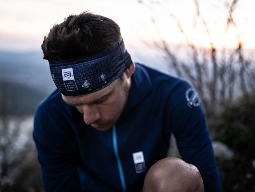 HeadBand On/Off - Mont Blanc 2019 BLUE
