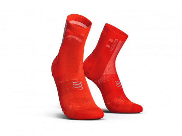 Calcetines deportivos pro v3.0 Ultralight Bike rojos