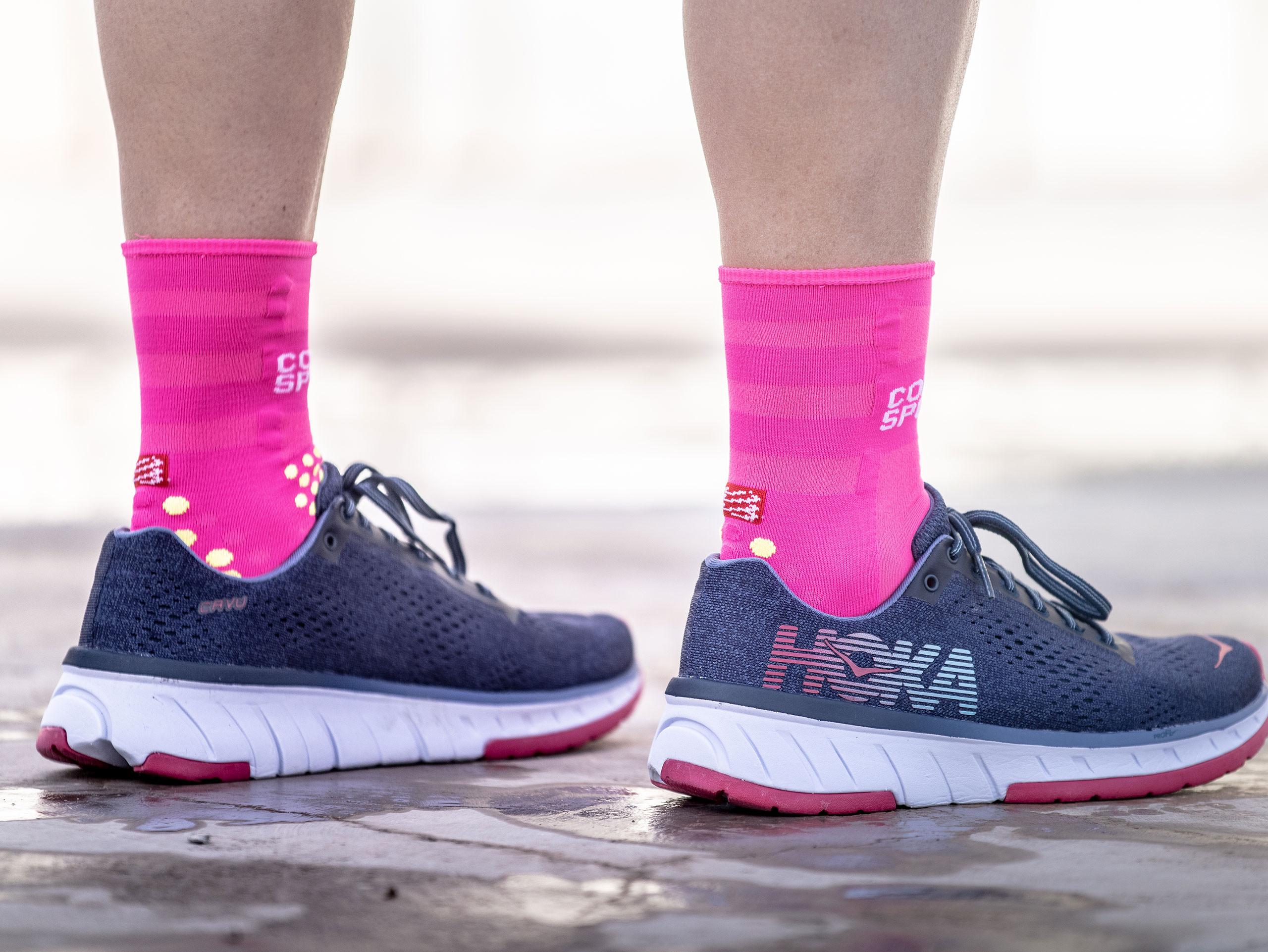 Pro Racing Socks v3.0 Run Ultralight Run High neonpink