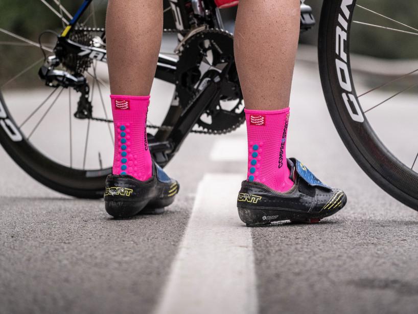 Pro Racing Socks v3.0 Bike FLUO PINK