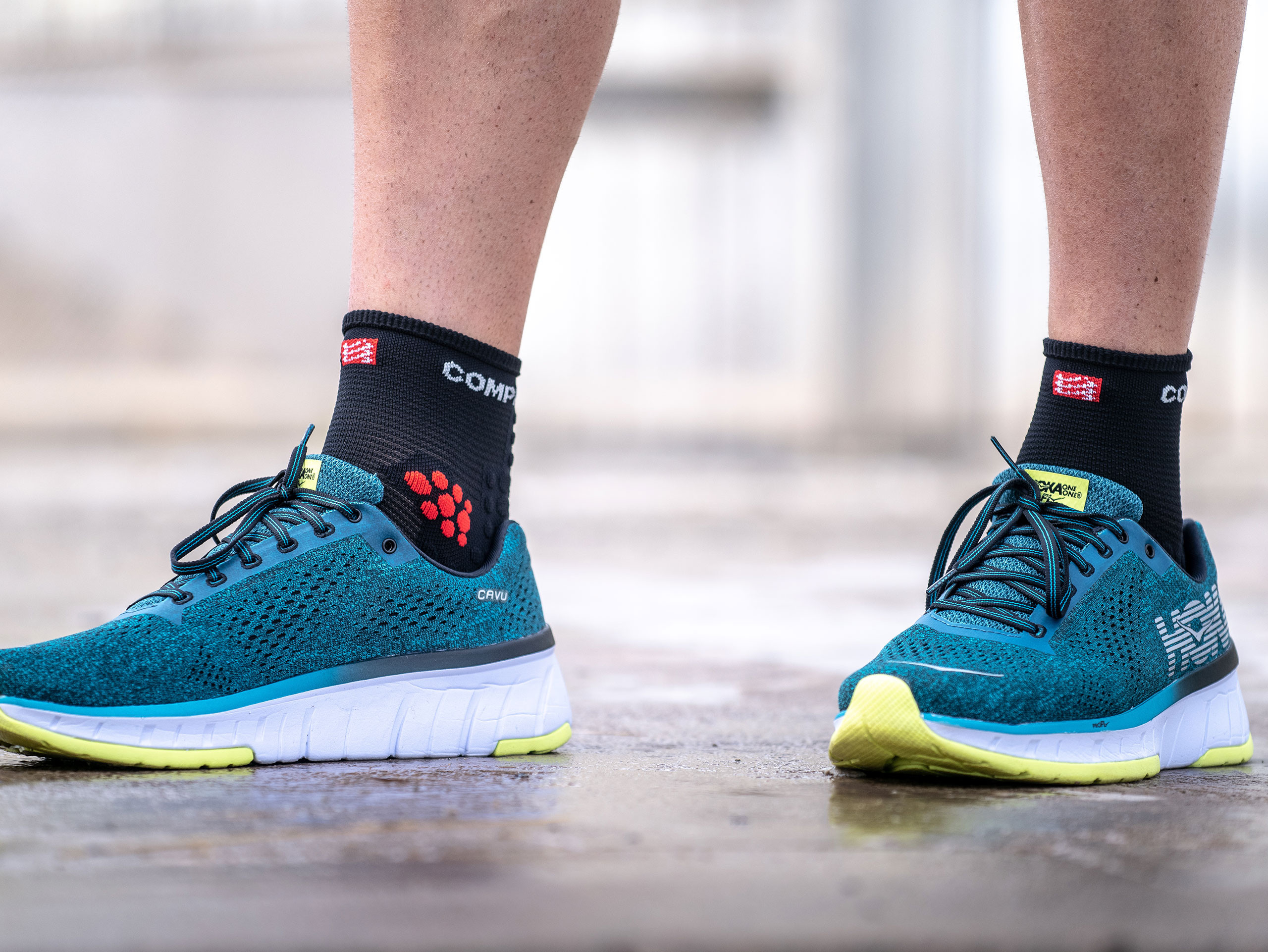 Pro Racing Socks v3.0 Run High BLACK