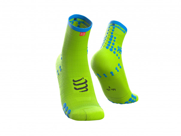 Pro racing socks v3.0 Run high Yellow