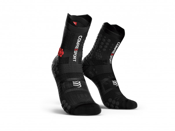 Calcetines deportivos pro v3.0 Trail negros