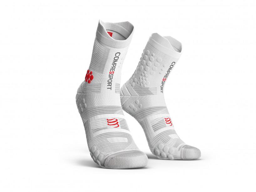 Calcetines deportivos pro v3.0 blancos