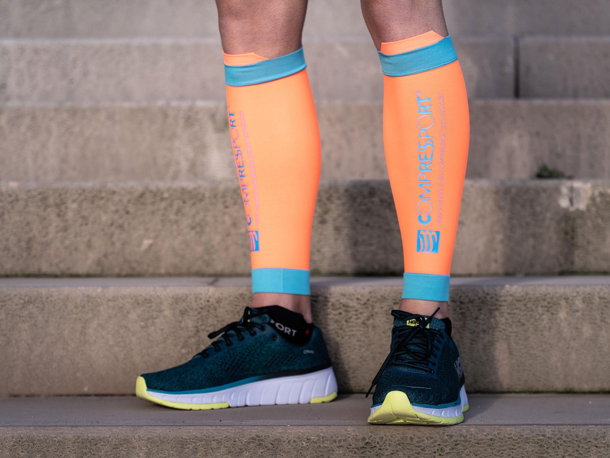 R2V2 calf sleeves orange