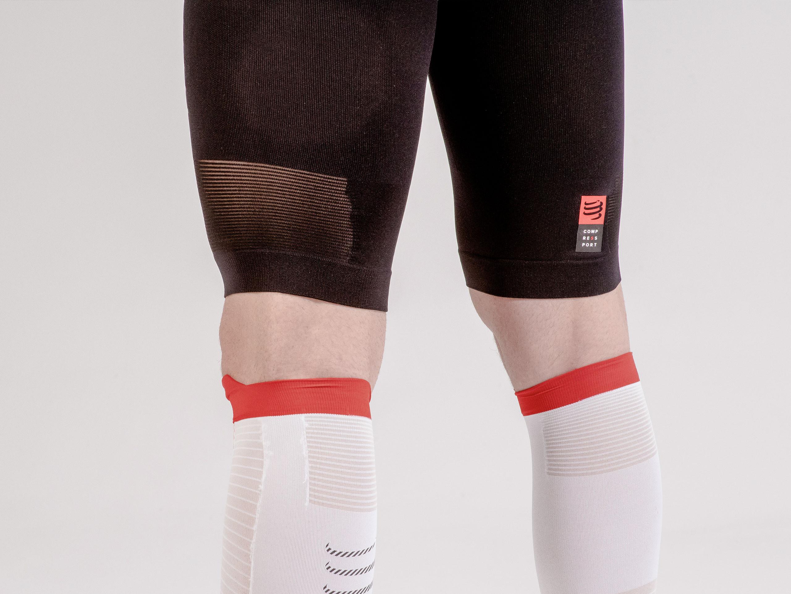 Men's compression trail running shorts