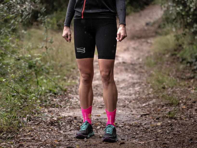Mallas cortas de trail running Under Control M negras