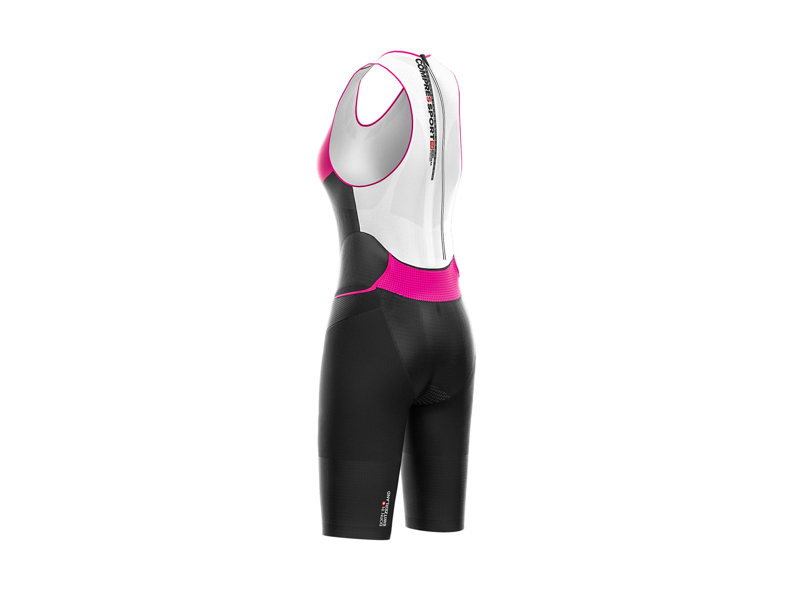 Tuta da triathlon TR3 Aero nera da donna