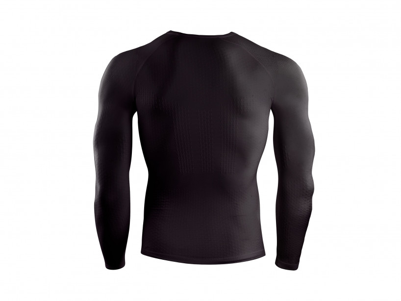 3D Thermo UltraLight LS Shirt schwarz
