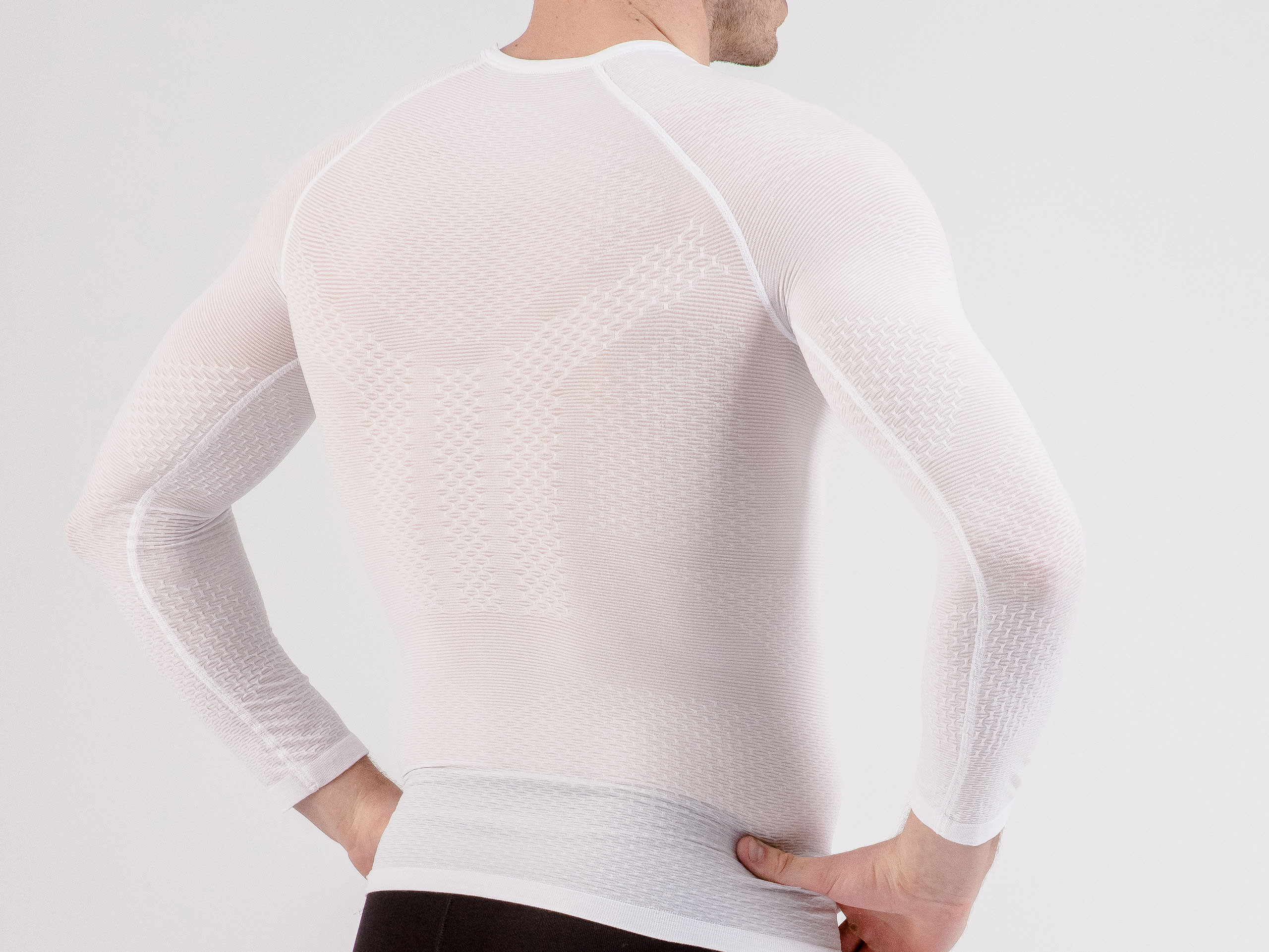 3D Thermo UltraLight LS Shirt WHITE