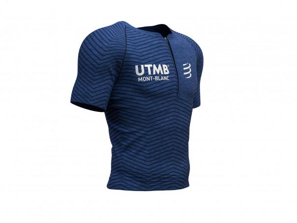 Kurzärmeliges Ultra-Trail-Top mit Haltungsunterstützung - UTMB® 2019