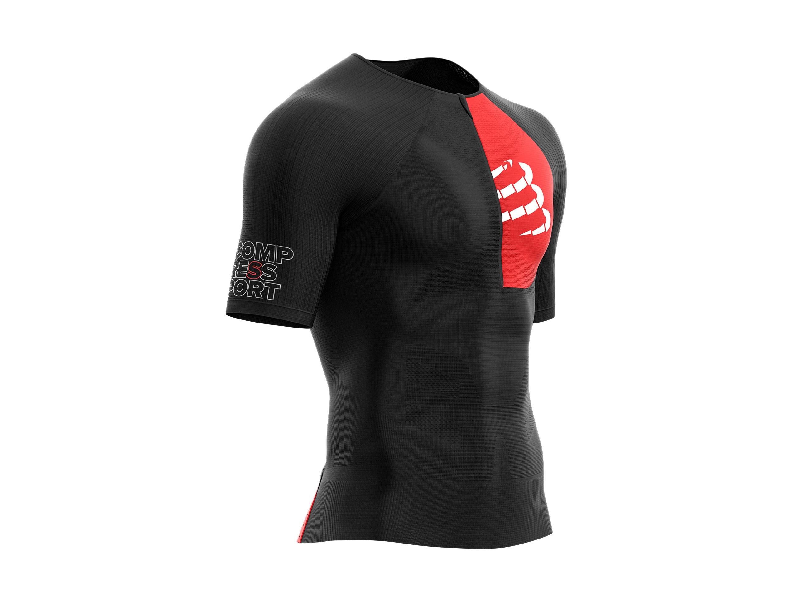 Maglia posturale da triathlon Aero SS nera