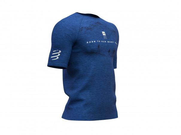 Training Tshirt SS - Mont Blanc 2019 BLUE