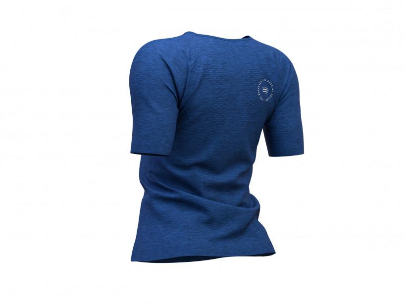 Training Tshirt SS W - Mont Blanc 2019 BLUE