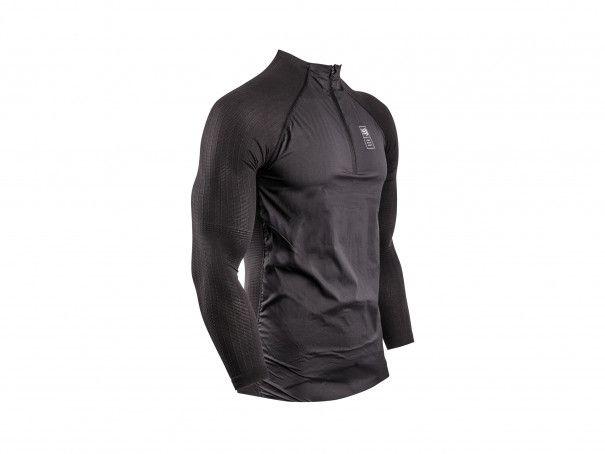Pullover ibrido nero