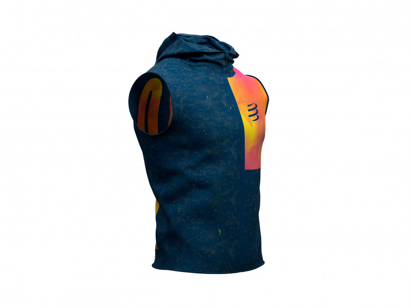 3D Thermo Seamless Zip Hoodie SS - Kona 2019 BLUE