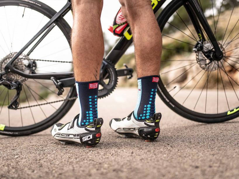Calze da gara professionali v3.0 Bike - Blu