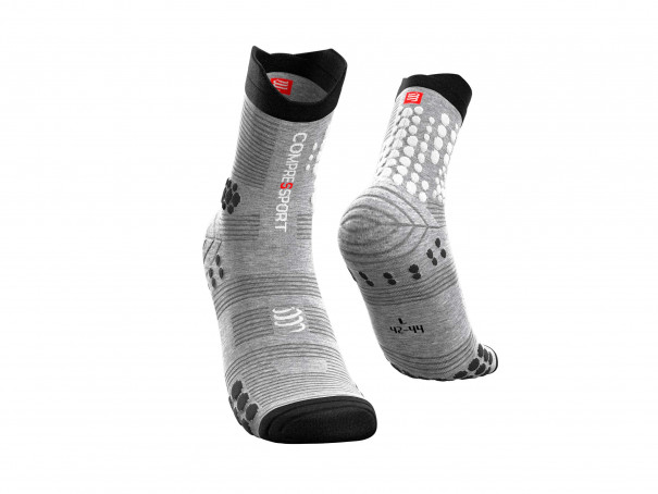 Calcetines Pro Racing v3.0 Trail gris jaspeado