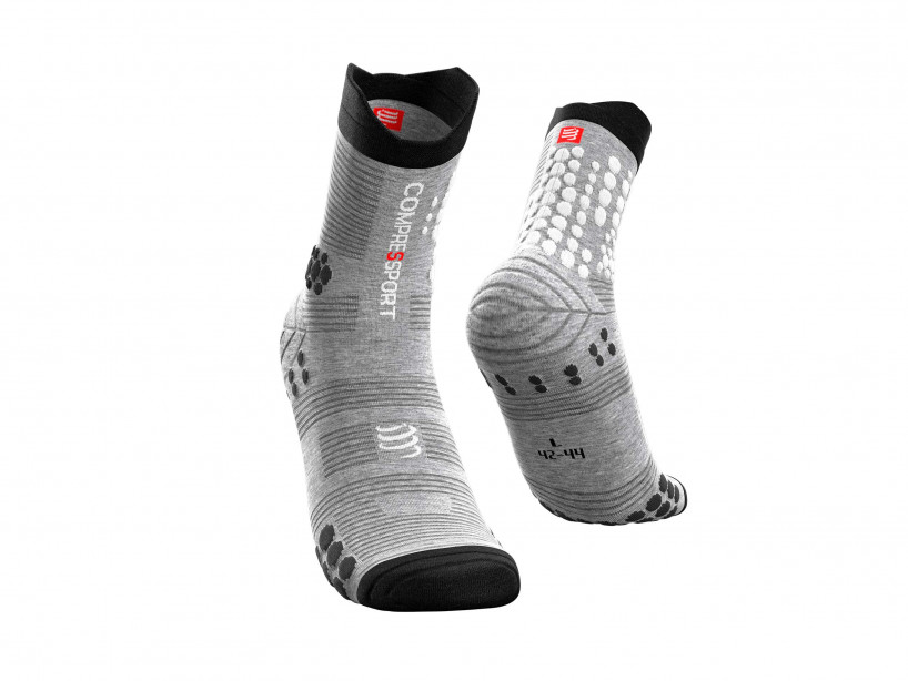 Calcetines Pro Racing v3.0 Trail gris jaspeado