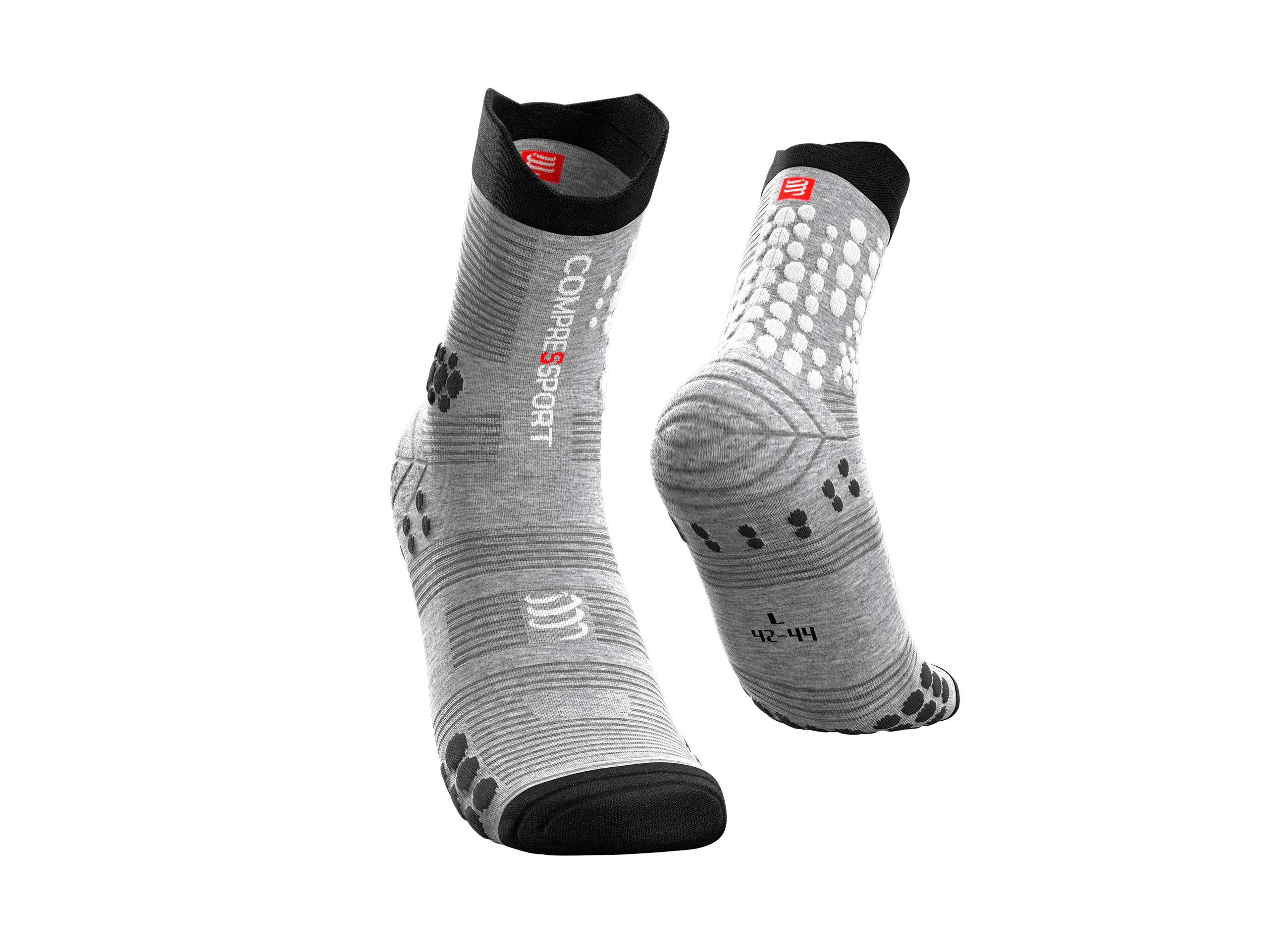Pro Racing Socks v3.0 Trail grau-meliert